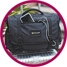corporate gifts and duffel bags